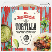 Tortilla Medium 8-p 320g ICA