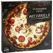 Stenugnsbakad pizza Mozzarella Fryst 375g ICA