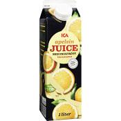 Apelsinjuice med fruktkött 1l ICA