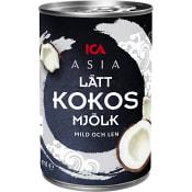 Kokosmjölk Lätt 400ml ICA Asia