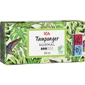 Normal Tampong 16-p Miljömärkt ICA