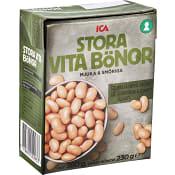Stora Bönor Vita 380g ICA