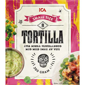 Soft tortillas Small 8-p 200g ICA