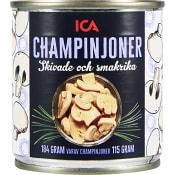 Champinjoner Skivade 184g ICA