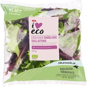 Sallatsmix Sköljd Ekologisk 65g ICA I love eco