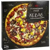 Stenugnsbakad pizza Kebab Fryst 380g ICA