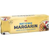 Mat & bakmargarin 80% 1kg ICA