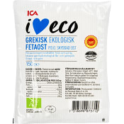 Fetaost 150g KRAV ICA I love eco