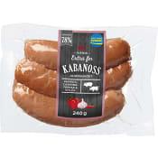 Kabanoss 78% kötthalt 240g ICA