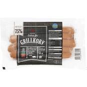 Grillkorv 75% kötthalt 500g ICA