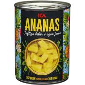 Ananasbitar i juice 340g ICA