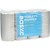 Toalettpapper 8-p Miljömärkt ICA Basic