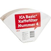 Kaffefilter Nummer 4 200-p ICA Basic