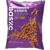 Pommes strips Fryst 2kg ICA Basic