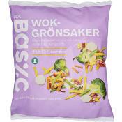 Wokgrönsaker Fryst 1kg ICA Basic