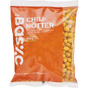 Chilinötter 500g ICA Basic