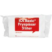 Fryspåse 3l 120st ICA Basic