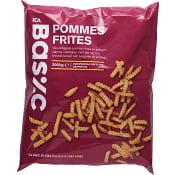 Pommes frites Fryst 2kg ICA Basic