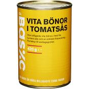 Vita bönor i Tomatsås 420g ICA Basic