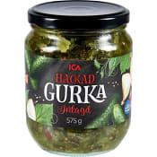 Hackad Gurka 575g ICA