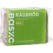 Rågbröd Skivat 500g ICA Basic