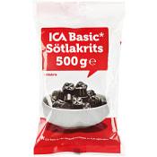Sötlakrits 500g ICA Basic
