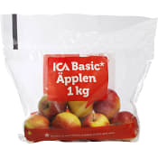 Äpplen 1kg Klass 1 ICA Basic