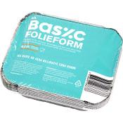 Med lock Aluminiumform 4,5dl 8-p ICA Basic