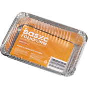 Folieform med lock 8,5dl 5-p ICA Basic