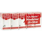 Näsdukar 3-lags 15-p Miljömärkt ICA Basic