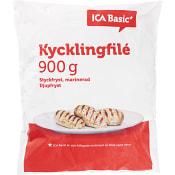 Kycklingfilé Fryst 900g ICA Basic