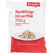 Kycklinginnerfilé Fryst 700g ICA Basic