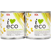 Majskorn 2-p Ekologisk 300g ICA I love eco