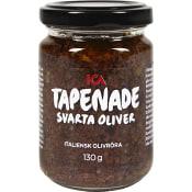 Tapenade Svarta oliver 130g ICA