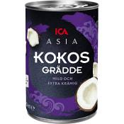 Kokosgrädde 400ml ICA Asia