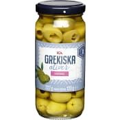Oliver Grekiska Gröna Urkärnade 227g ICA