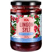 Lingonsylt utan tillsatt socker 360g ICA