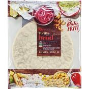 Tortillabröd Glutenfri Fryst 4-p 280g ICA