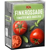Finkrossade Tomater Basilika 390g ICA