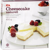 Cheesecake Naturell Fryst 400g ICA