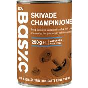 Champinjoner Skivade 290g ICA Basic