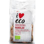 Mandlar Ekologisk 100g ICA I love eco