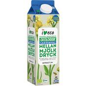 Mellanmjölk Laktosfri 1,5% 1l KRAV ICA I love eco