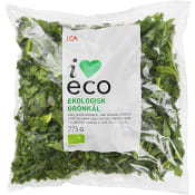Grönkål Ekologisk 275g ICA I love eco