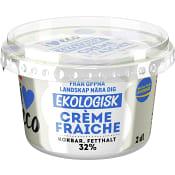 Crème fraiche 34% 2dl KRAV ICA I love eco