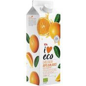 Apelsinjuice Nypressad med fruktkött Ekologisk 1l ICA I love eco