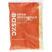 Mozzarella riven 250g ICA Basic