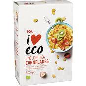 Cornflakes Ekologisk 500g ICA I love eco