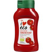 Ketchup Ekologisk 470g ICA I love eco