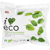Bladspenat Fryst Ekologisk 450g ICA I love eco